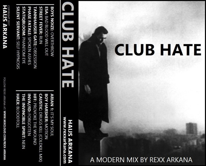 Club Hate 2017 Complete Art