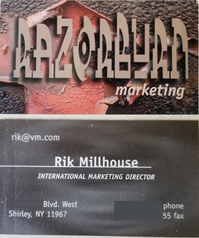 RazorBurn Business Card